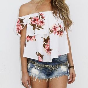 Stevie sister patty floral top